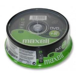 MAXELL DVD +R  16x  4.7GB  (25 Tub)